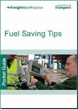 Department of Transport Fuel Saving tips